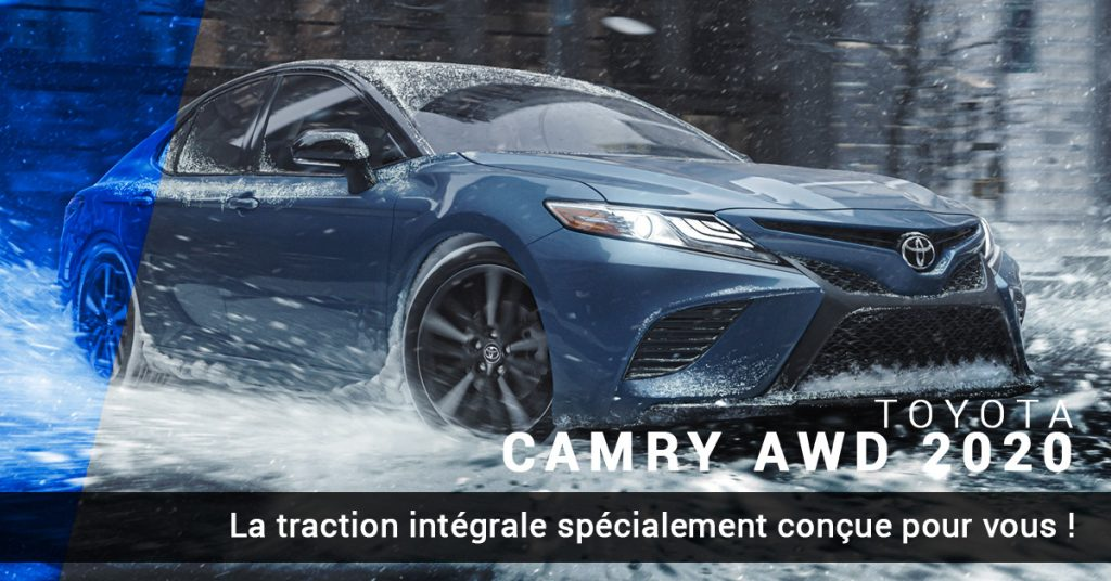 Toyota Camry à traction intégrale